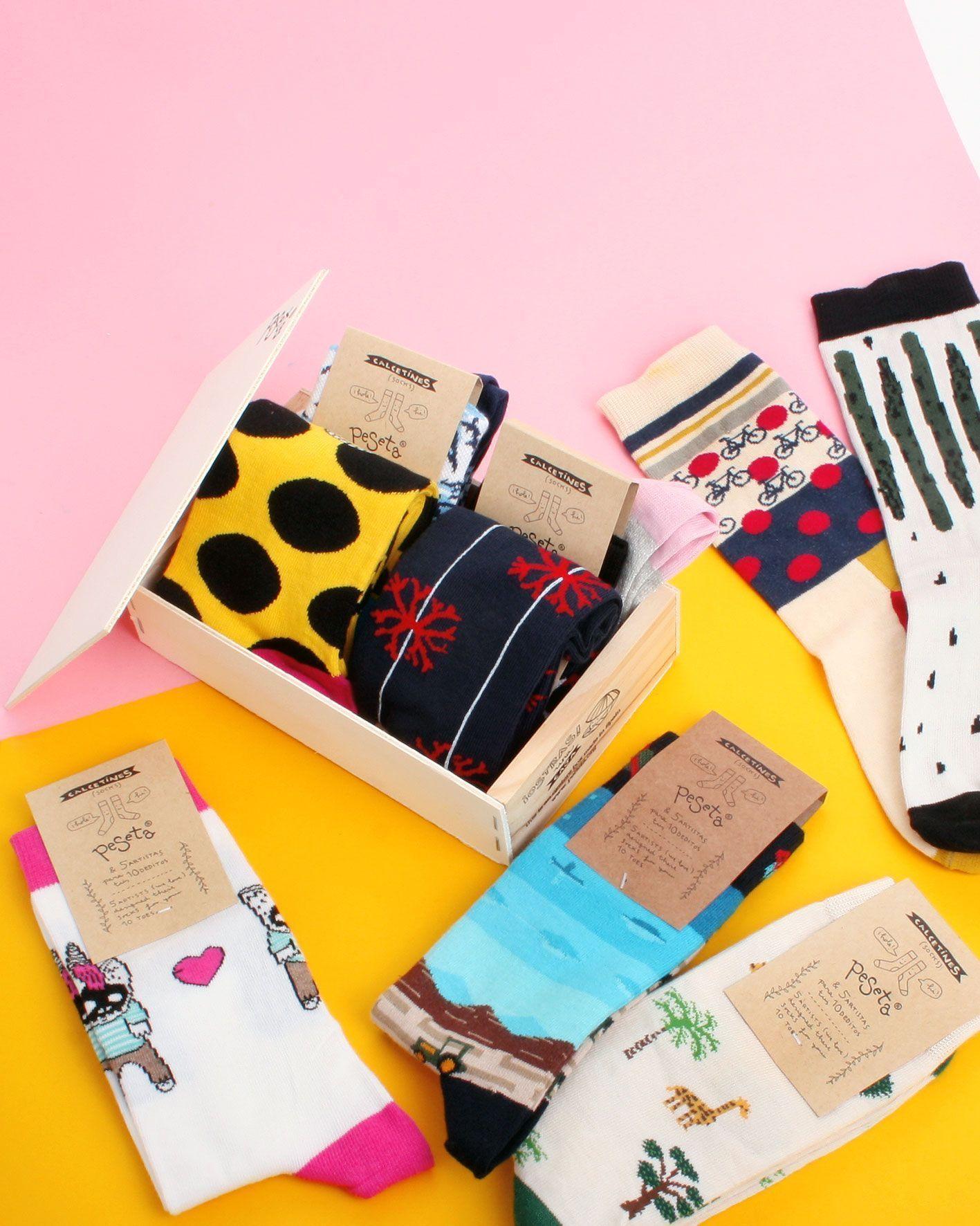 peSeta calcetines pack 4