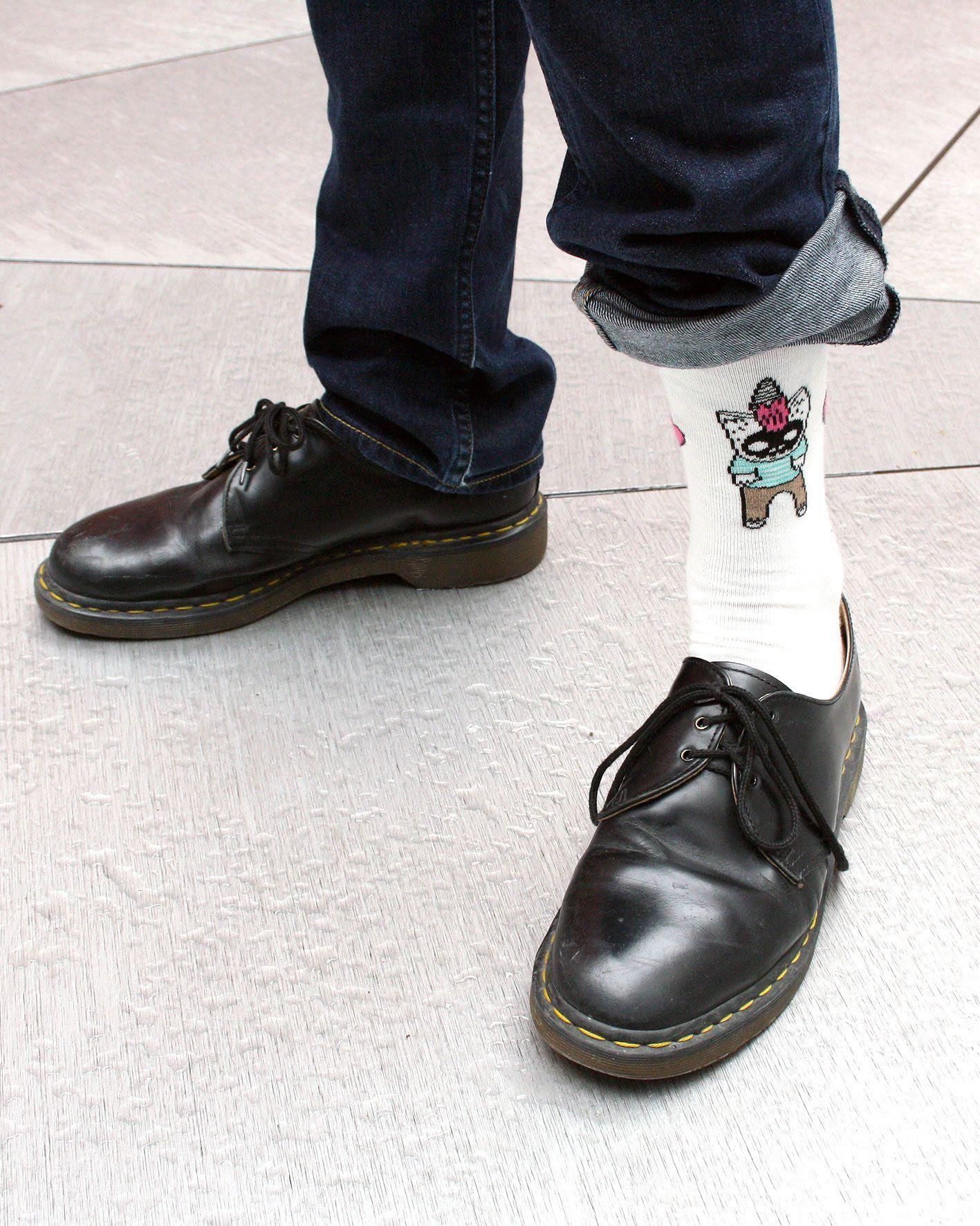 peSeta calcetines Aitor Saraiba