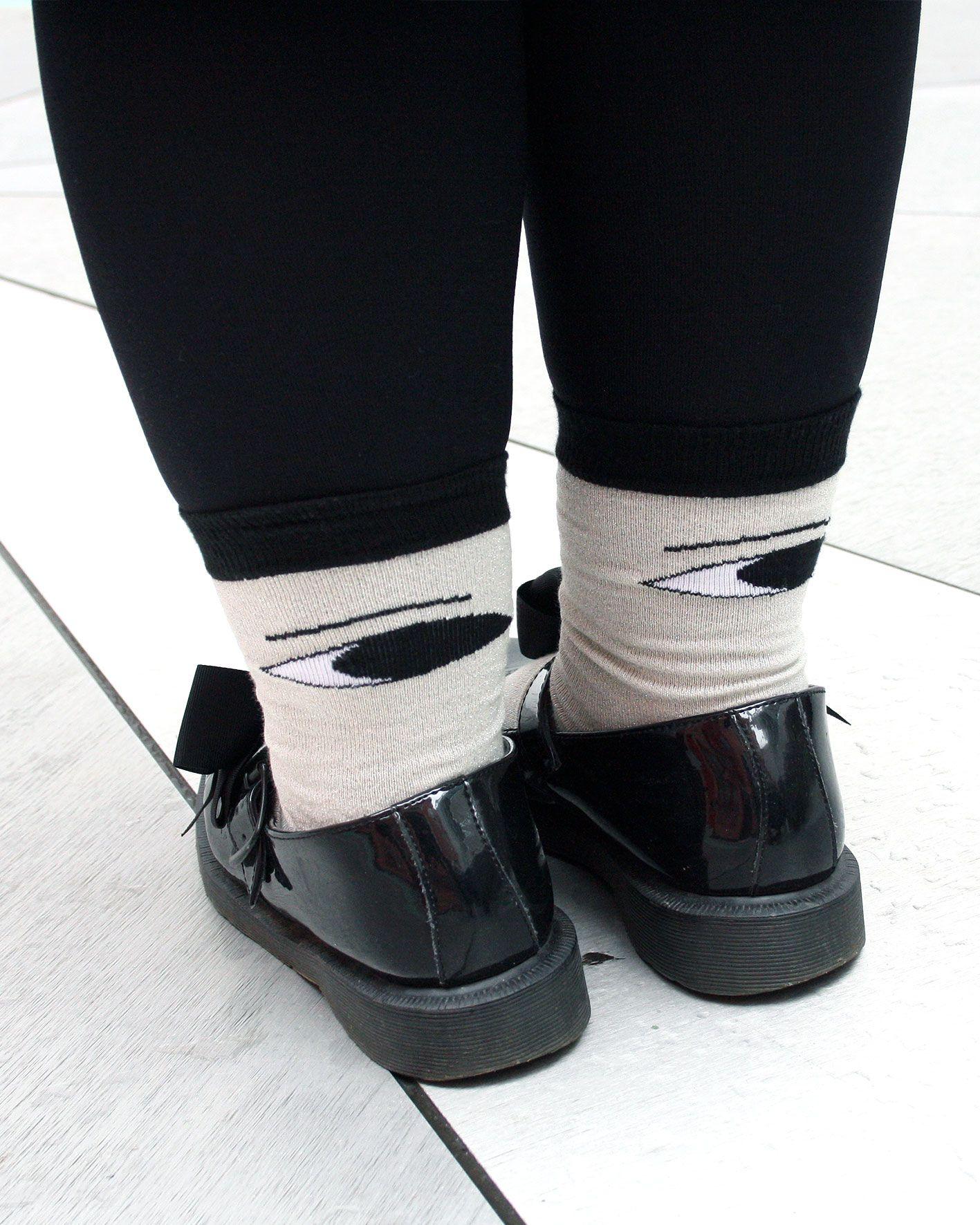 peSeta calcetines Laura Ameba