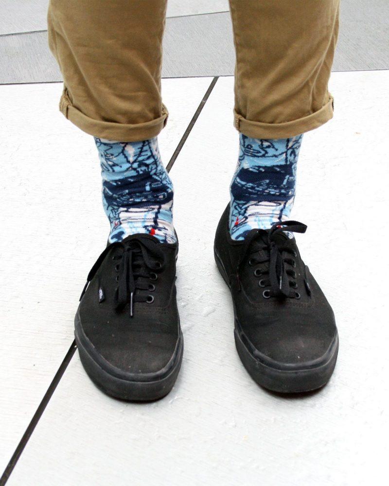 peSeta calcetines Luciano Suárez