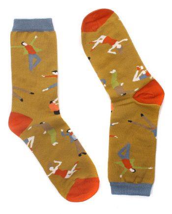calcetines diseñados por el ilustrador Nader Sharaf para peSeta