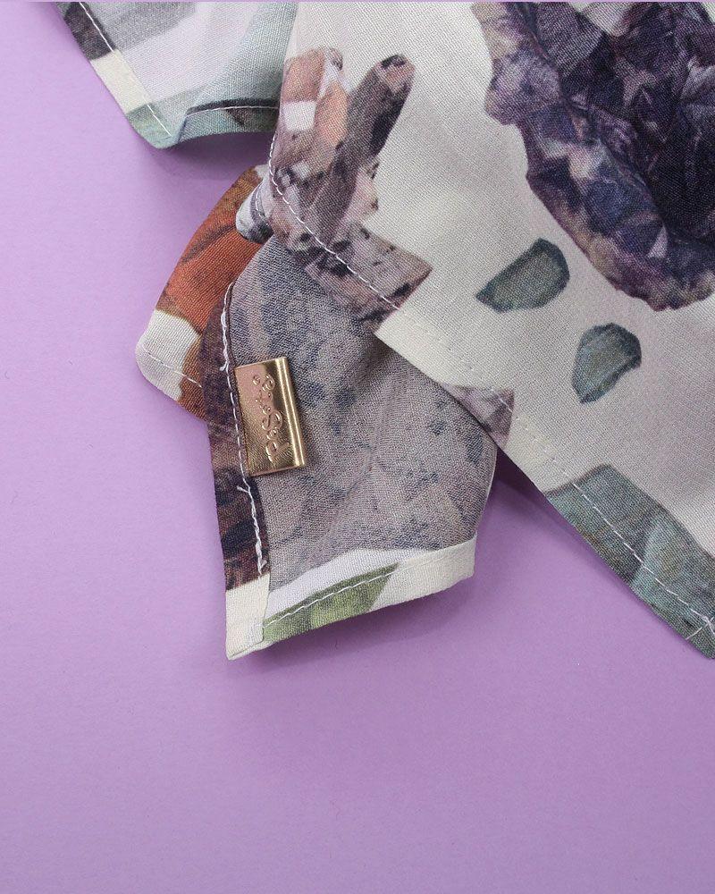 pañuelo estampado mineral