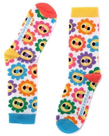 calcetines diseñados por Emo Diaz para peSeta