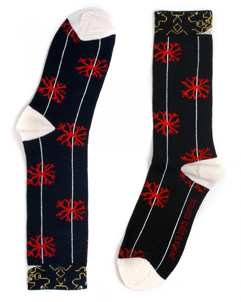 calcetines diseño Luján Marcos