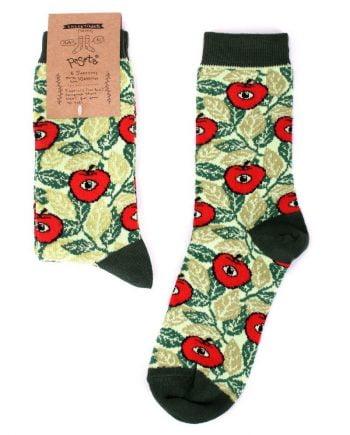 calcetines manzanas rubenimichi