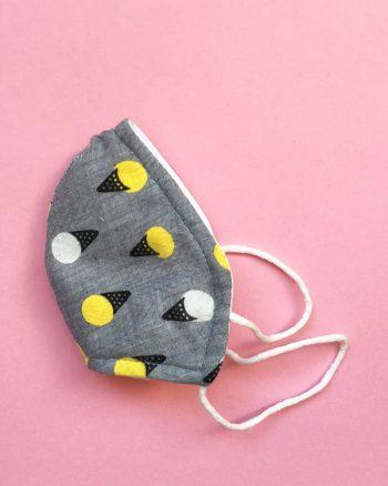 mascarillas higiénicas infantiles telas estampadas para niños
