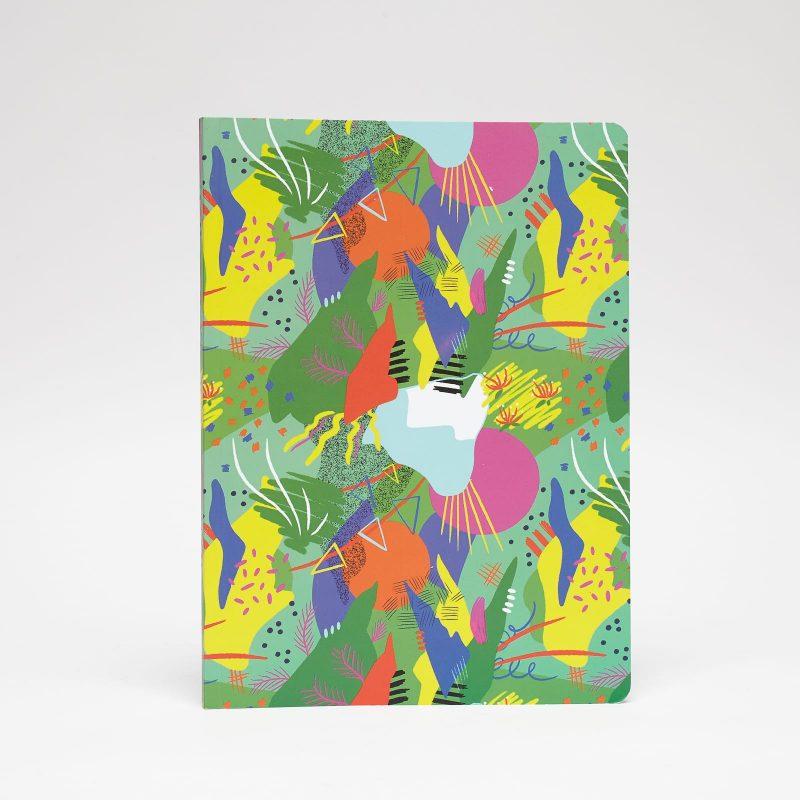 cuaderno grande estampado fiesta peSeta