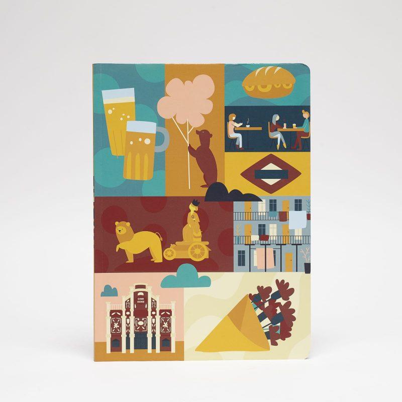 cuaderno grande Madrid peSeta