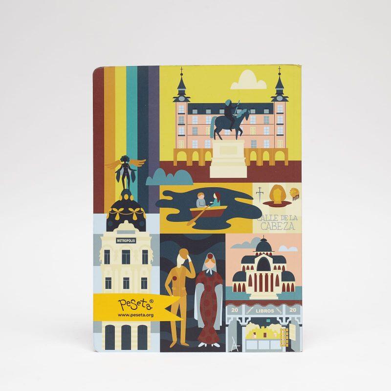 cuaderno grande Madrid