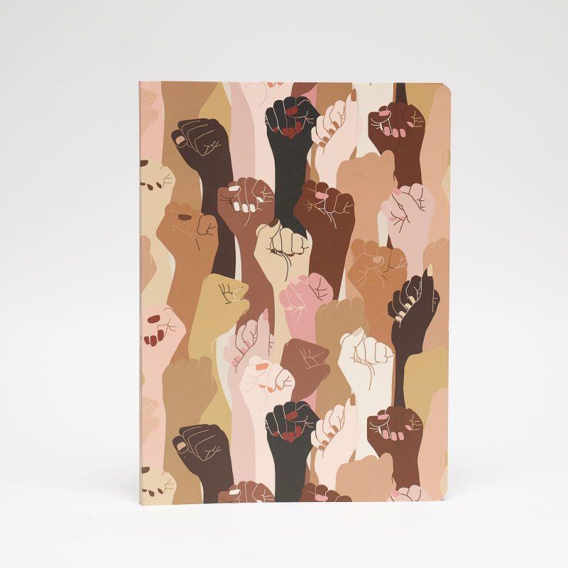 cuaderno grande estampado pieles peSeta