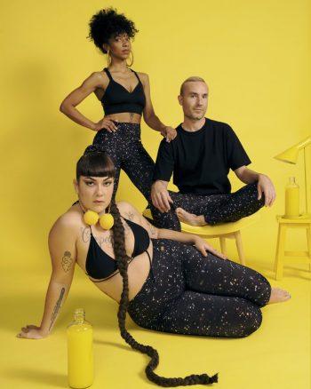 leggings o mayas unisex cintura alta y ancha estampado espacial