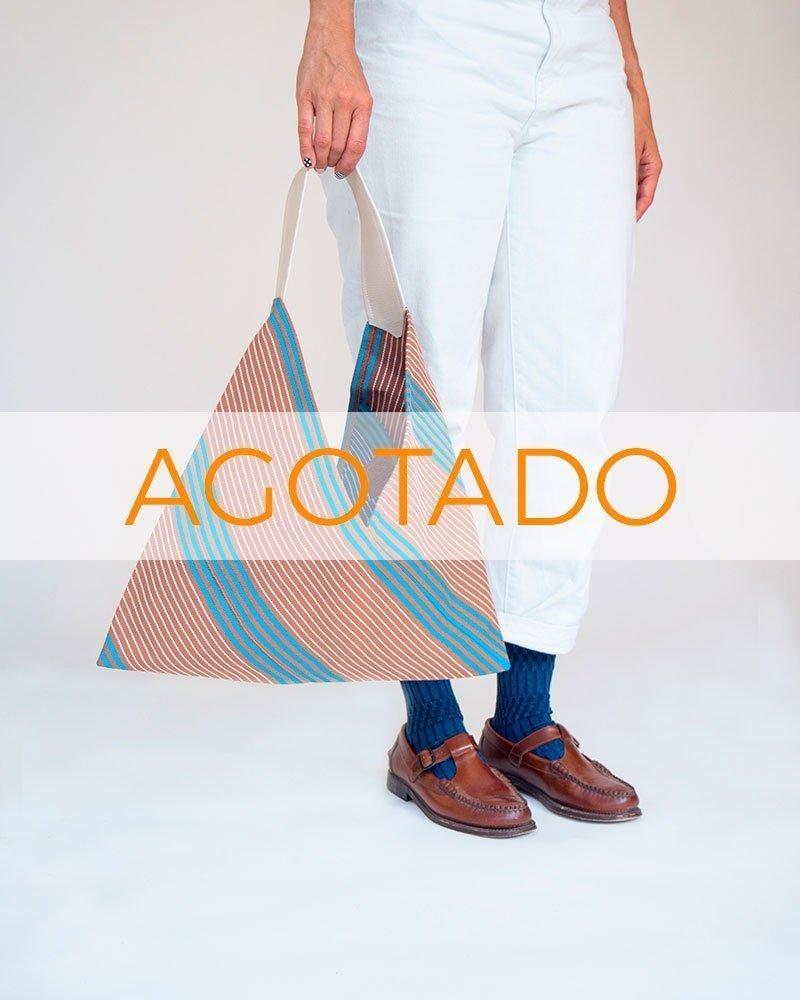 PeSeta_bolso_origami_marronazul_1agotado